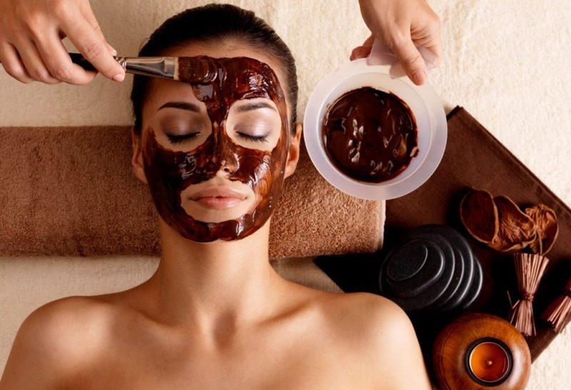 mascarilla a base de chocolate