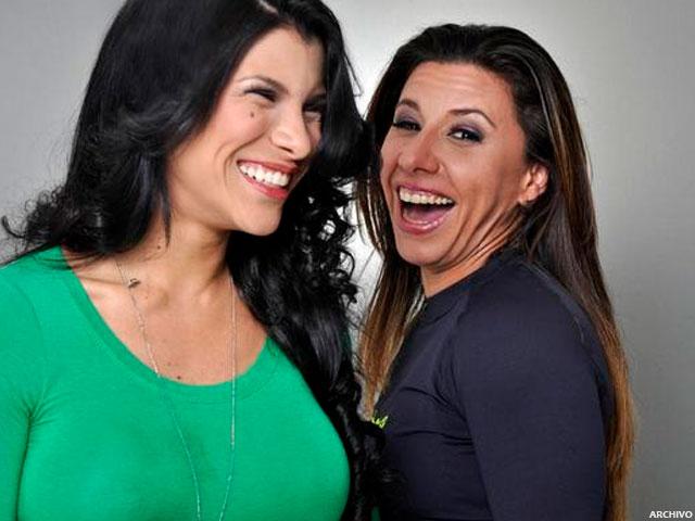 Andreína Álvarez y Vanessa Senior