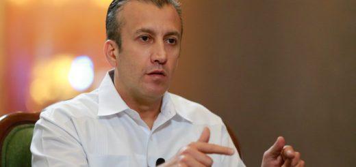 Vicepresidente de Venezuela, Tareck El Aissami.