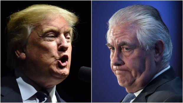 Trump y Tillerson