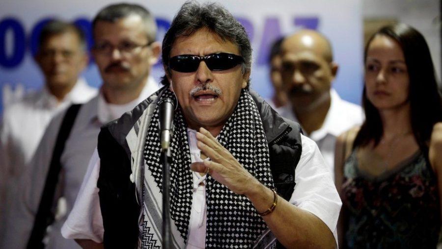 Santrich, uno de los líderes de la Farc