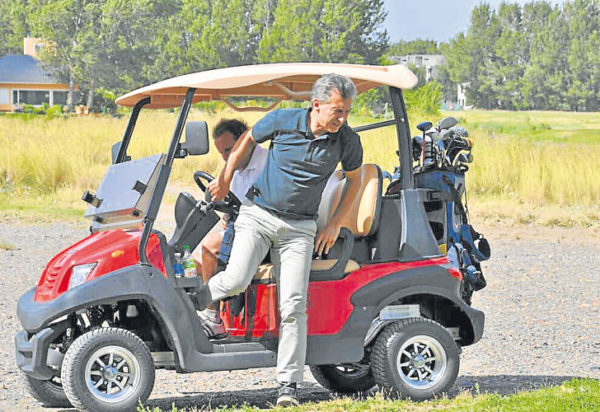 carrito de Golf/ imagen referencial