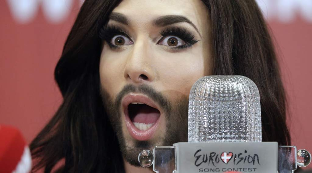 El travesti austriaco Conchita Wurst
