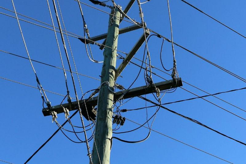 Imagen de cerca eléctrica